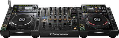 DJ Equipment Black