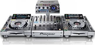 DJ Equipment Silver