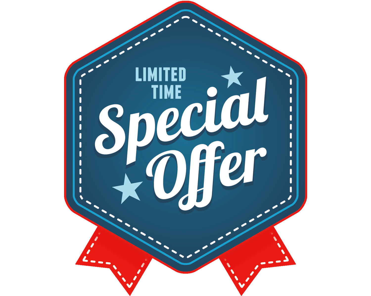 Limited Time Special Offer Icon
